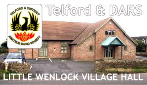 Little Wenlock Village Hall meeting place for TDARS