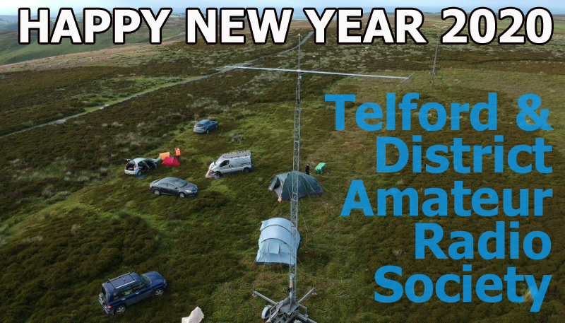 Happy New Year from Telford and Distric Amateur Radio society  TDARS