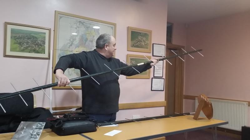 Paul M0PNN with his long 70cm beam