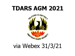 TDARS AGM 2021