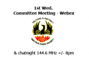 TDARS committee meeting and club logo