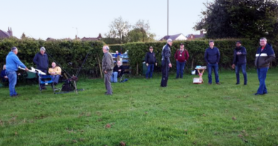 previous meet up at the little wenlock village field by members of TDARS