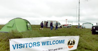 TDARS Welcomes visitors