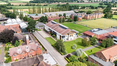 Telford Hamfest location 2021 at Harper Adams University Shropshire