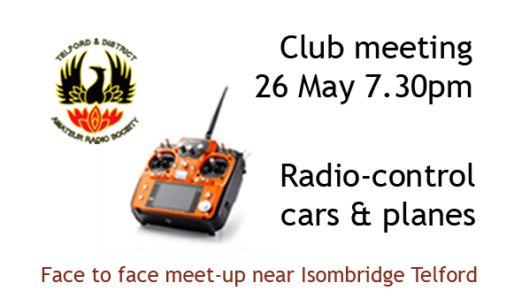 TDARS Meeting 26/05/21 RC cars and planes