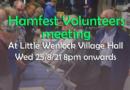 Telford Hamfest volunteers evening