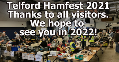 Hamfest 2021 over - hope to see everyone in 2022