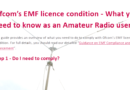 EMC and OFCOM talk at LWVH